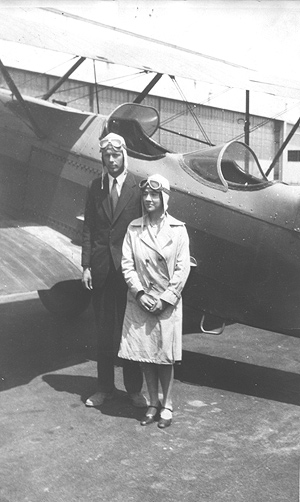 Charles Lindbergh, Anne Morrow, The Spirit of St. Louis