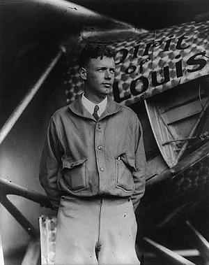 Charles Lindbergh, The Spirit of St. Louis